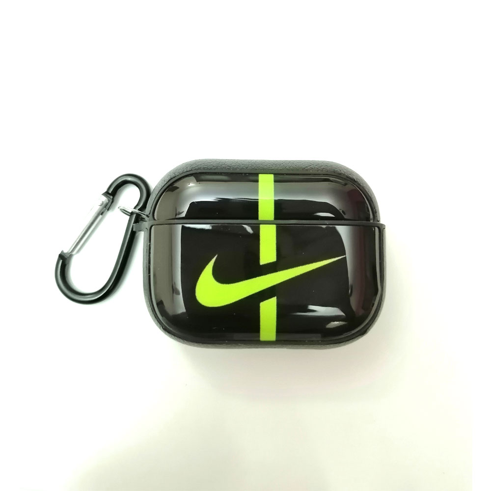Marcado Empotrar Culpable  Buy Nike Logo Airpod Pro Case Black Green with belt clip Price in Pakistan